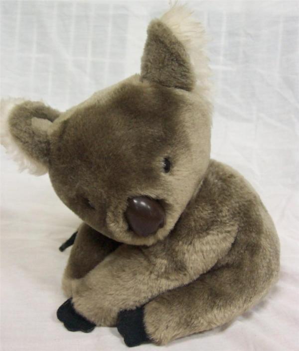 "Gund Vintage Koala Bear 10"" Plush Stuffed Animal Toy"