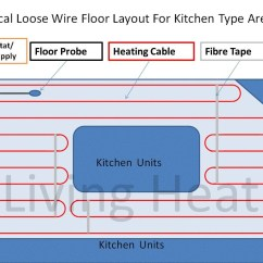 Contactor Wiring Diagram Underfloor Heating How To Wire A Light With Two Switches Switch Cable Kit Thermostat Option For