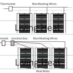 Wiring Diagram For Electric Underfloor Heating Cat5 Twisted Pair Use Under Laminate And Wood Floors
