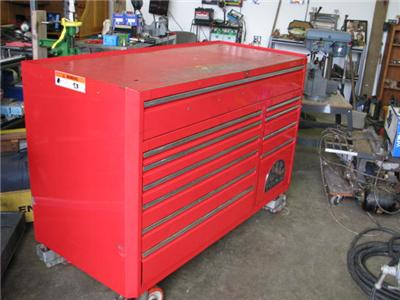 Mac Tools Maxmiser Rolling tool Box Used With Key eBay