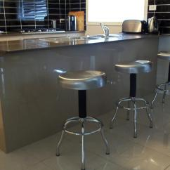 Stainless Steel Stools Kitchen Aid Coffee Makers Maxim Bin And Stool Chair Trash Bar