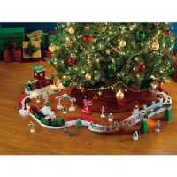 Fisher Price GeoTrax Christmas In ToyTown RC Train Set