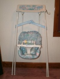 GRACO Vintage EASY Entry SWINGOMATIC Wind-UP Baby SWING ...