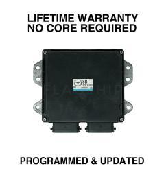 engine computer programmed updated 2007 mazda 3 lfs7 18 881b 2 0l at pcm ecm oem [ 1000 x 1000 Pixel ]