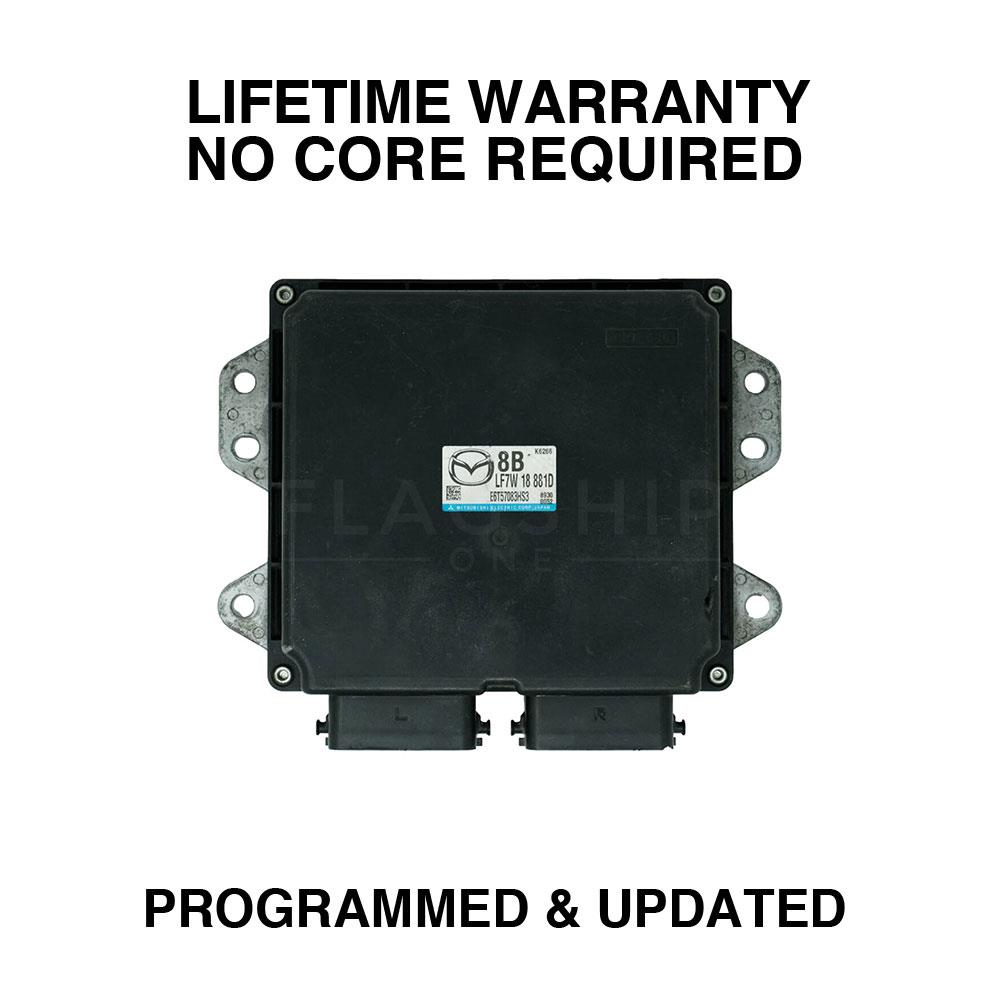 hight resolution of engine computer programmed updated 2007 mazda 3 lfs7 18 881b 2 0l at pcm ecm oem