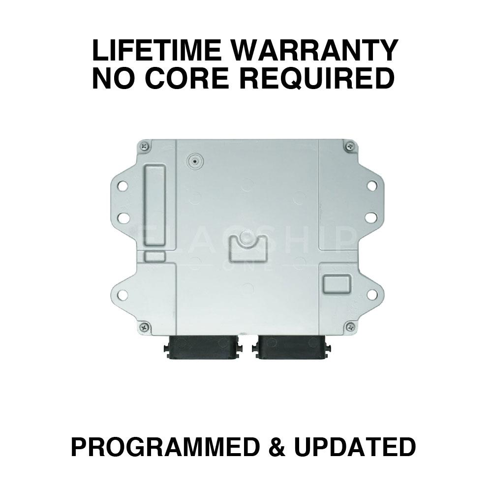 medium resolution of engine computer programmed updated 2007 mazda 3 lfs7 18 881b 2 0l at pcm ecm oem