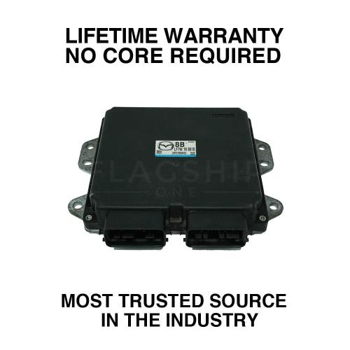 small resolution of details about engine computer programmed updated 2007 mazda 3 lfs7 18 881b 2 0l at pcm ecm oem