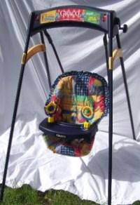 Vintage Graco Wind Up Baby Swing. 2 Speeds. Seat Belt
