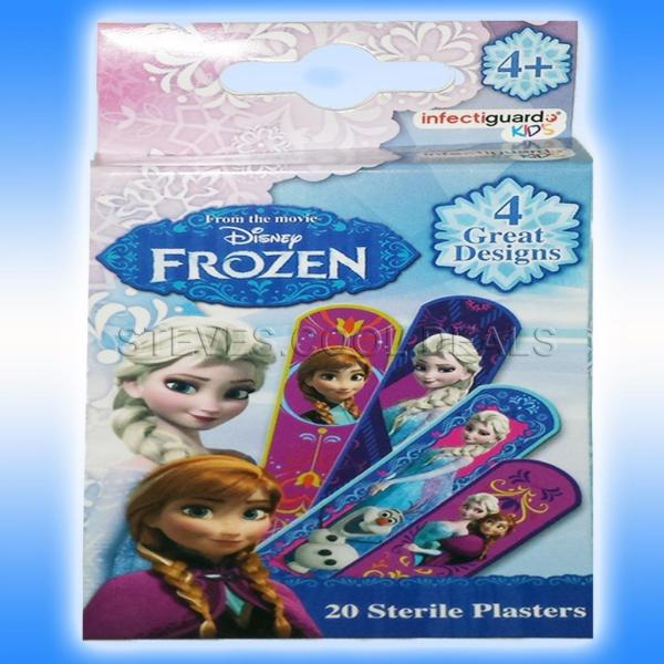 Disney Frozen Kitty Moshi Sterile Plasters