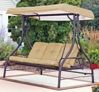 covered patio swing glider - 28 images - covered 3 person ...