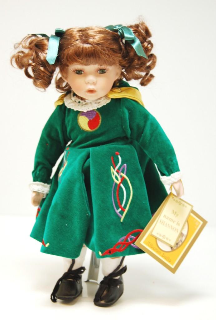 Alberon Dolls Shannon 12 Porcelain Doll BRAND NEW  eBay