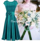 Jade Green Bridesmaids Dresses