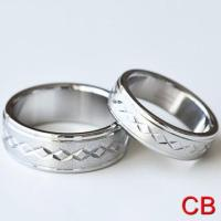 Matching Promise Rings Stainless For Him & Her Sizes 5-14 ...