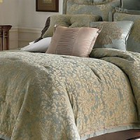 NEW Chris Madden DELANO Jacquard KING Comforter Set ...