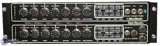 User reviews Mesa Boogie Quad Preamp  Audiofanzine