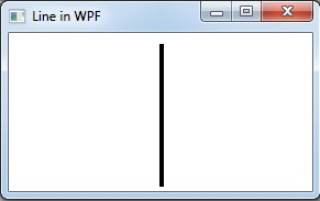 vertical line in WPF