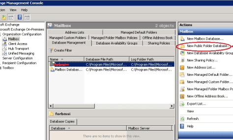 create public mail server in exchange server 2010