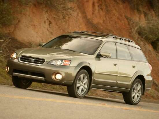 2005 Subaru Outback Horn Location