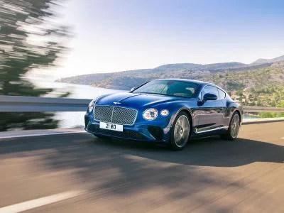 2018 Bentley Continental GT blue 400 thb
