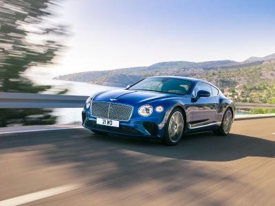 2018 Bentley Continental GT blue 400 thb