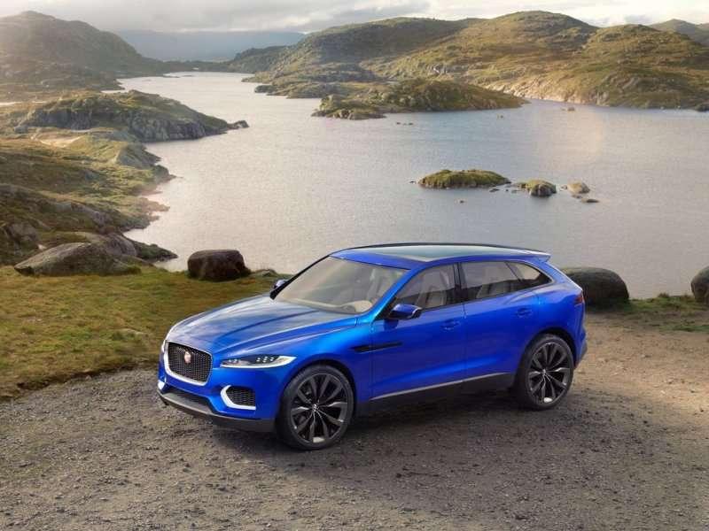 Frankfurt Motor Show Jaguar Reveals The C X17 Crossover Concept