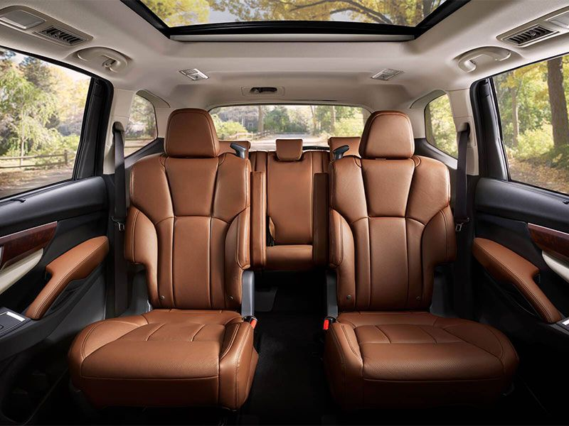 10 SUVs with SecondRow Captains Chairs  Autobytelcom