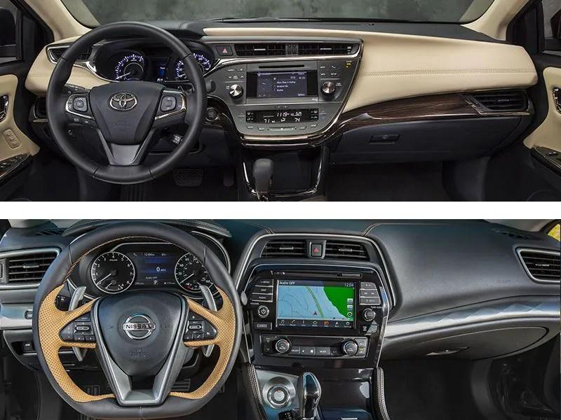 2017 Toyota Avalon Interior Colors