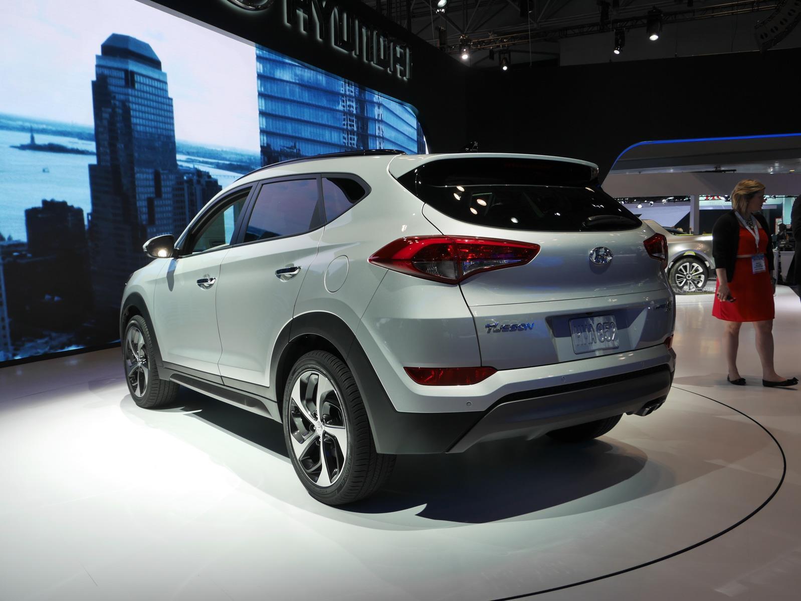 Auto Show De Nueva York 2015 Hyundai Tucson 2016 Ms
