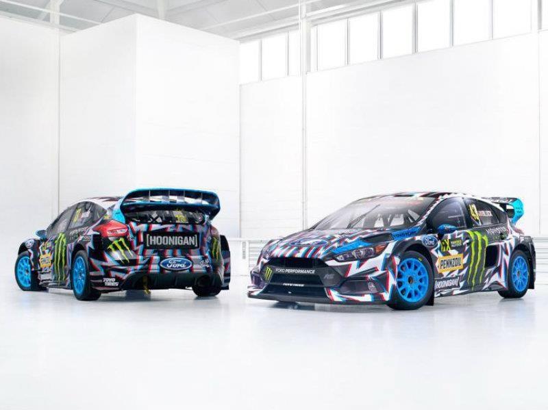 Death Race Cars Hd Wallpapers Ford Focus Rs Rx 2017 El Nuevo Juguete De Ken Block