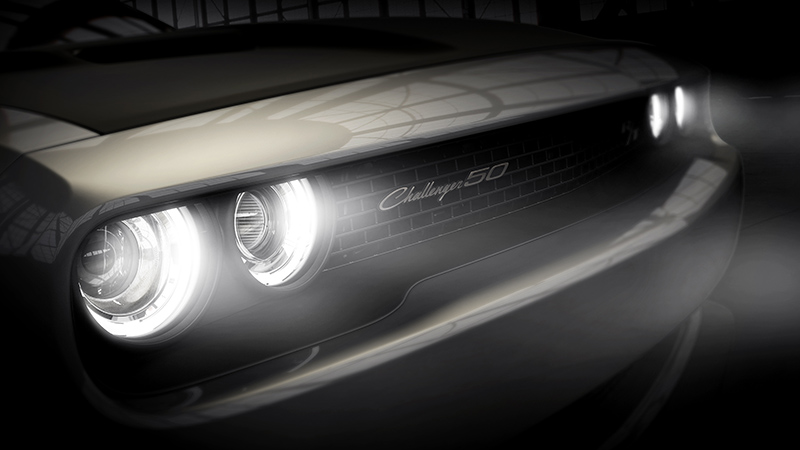 Dodge Challenger 50 aniversario