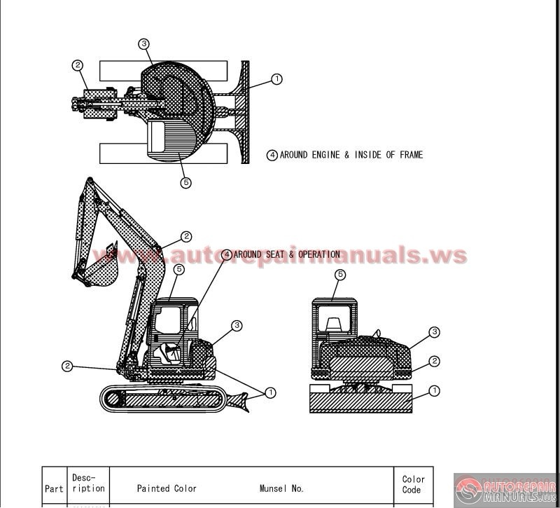 Keygen Autorepairmanuals.ws: YANMAR Crawler Backhoe model