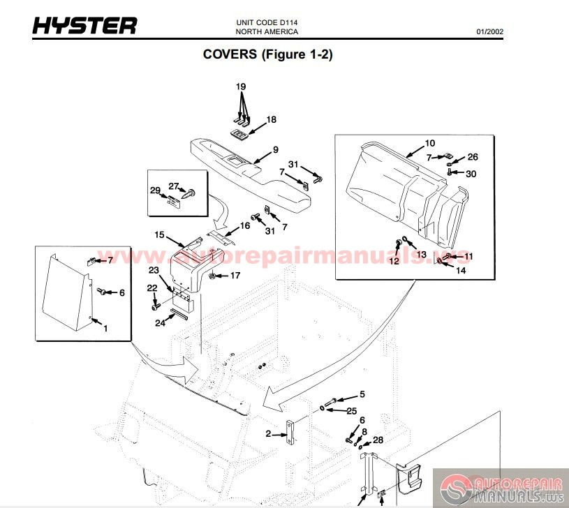 Keygen Autorepairmanuals.ws: Hyster Forklift Parts and
