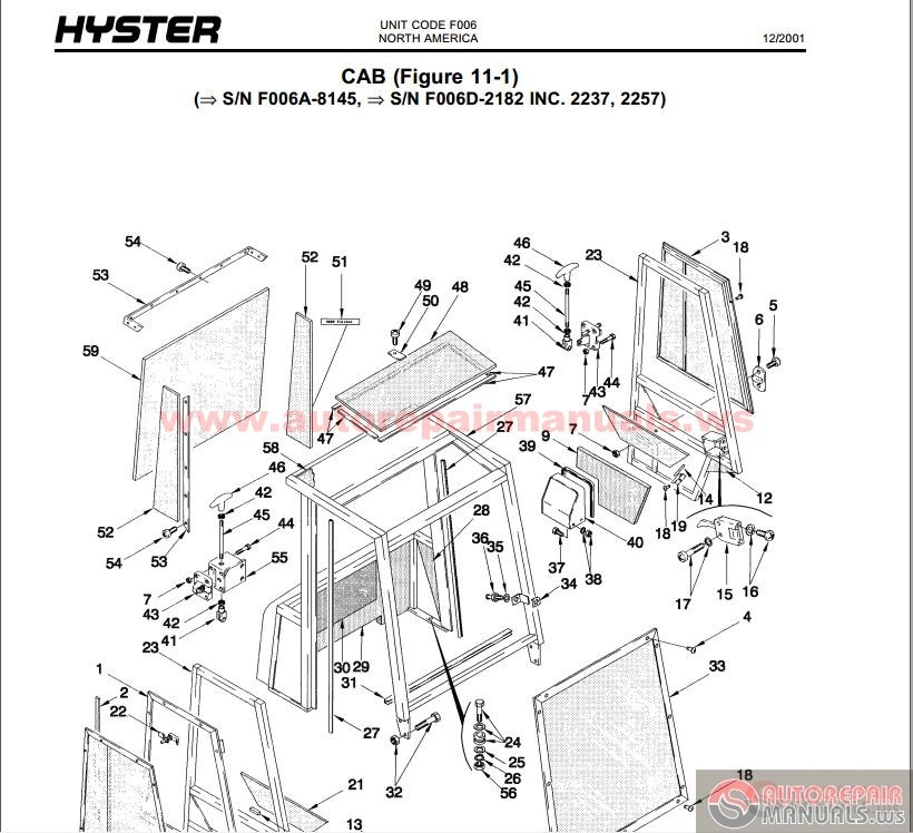Wiring Diagrams Hydravlic Diagrams Specifications Hyster