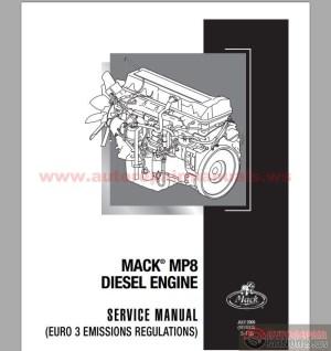 Mack MP8 Diesel Engine Euro 3 Service Manuals | Auto