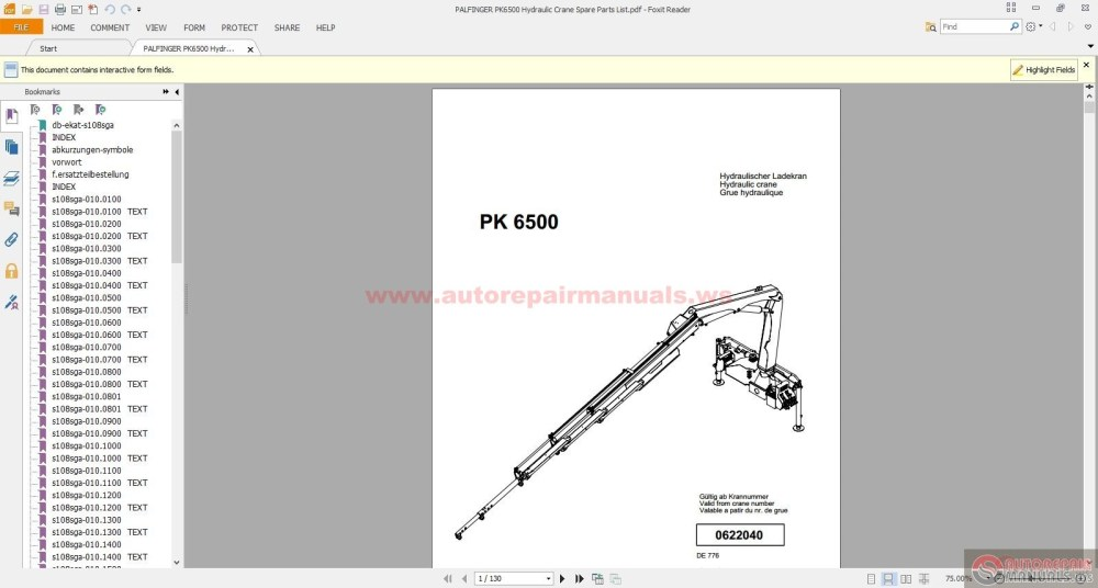 medium resolution of palfinger crane spare parts list wiring diagrams