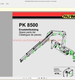 palfinger pk8500 hydraulic crane spare parts list auto repair hydraulic crane parts diagram [ 1600 x 864 Pixel ]