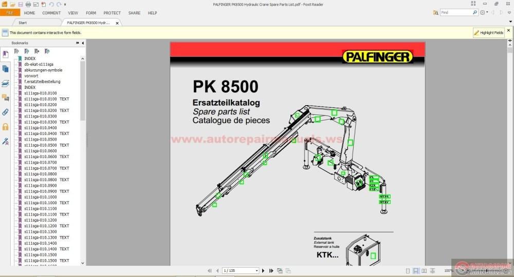 medium resolution of palfinger pk8500 hydraulic crane spare parts list auto repair hydraulic crane parts diagram