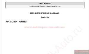 Audi S8 2001 System Wiring Diagrams | Auto Repair Manual