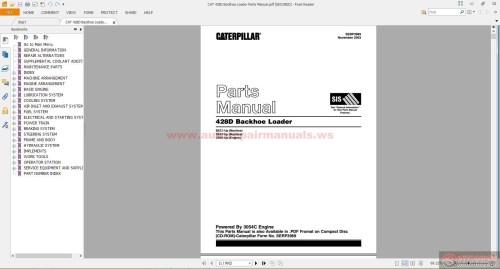 small resolution of cat d backhoe loader parts manual auto repair manual forum cat 428d backhoe loader parts manual