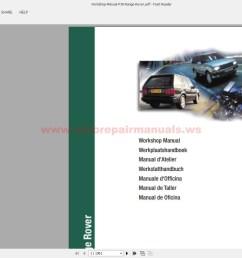 workshop manual p38 range rover img img  [ 1600 x 860 Pixel ]