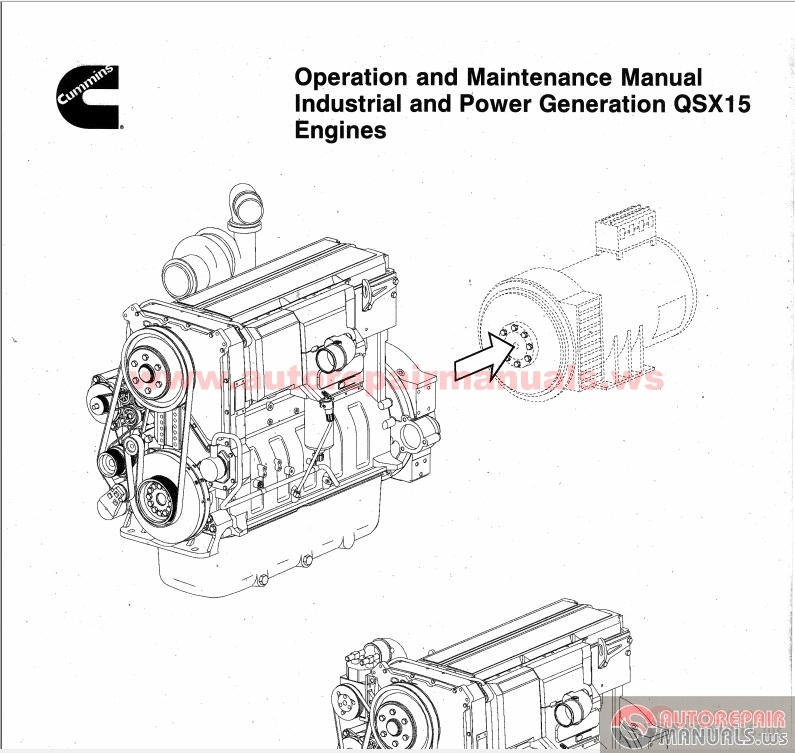 Cummins Qsx15 G8 Maintenance Manual
