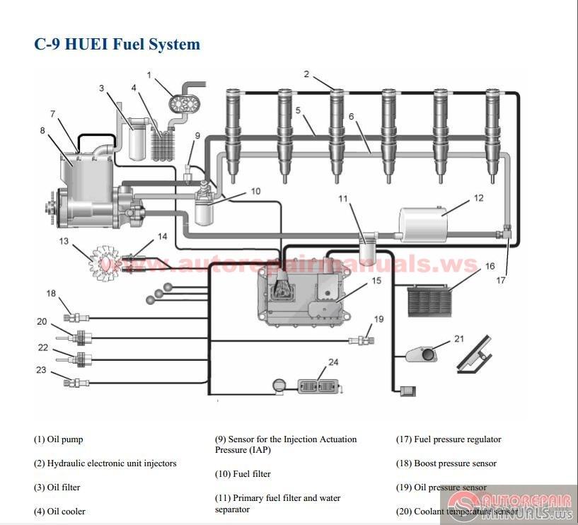 3116 cat engine parts diagram