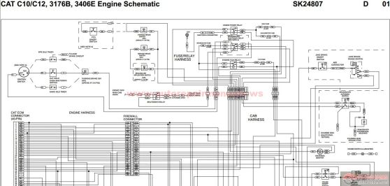 cat 3406e wiring diagram cat image wiring diagram cat c12 ecm wiring diagram jodebal com on cat 3406e wiring diagram