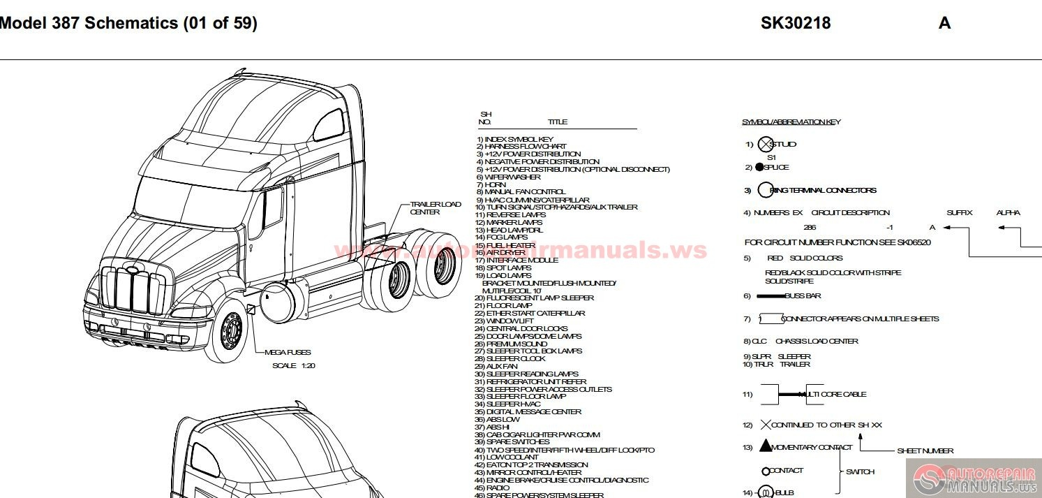 Peterbilt Ac Wiring Diagrams, Peterbilt, Free Engine Image