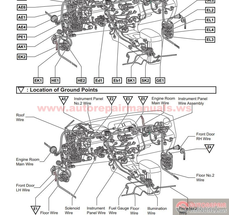 Ae111 Toyota Corolla Wiring Diagram : Pursued : A True