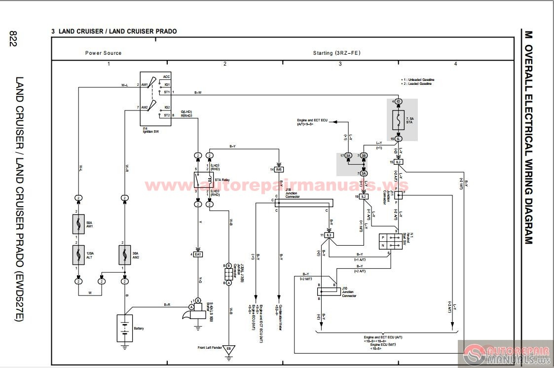 Toyota Prado Trailer Wiring Diagram Efcaviation Com