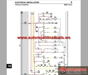DAF 95 XF Electrical Wiring Diagram | Auto Repair Manual Forum  Heavy Equipment Forums