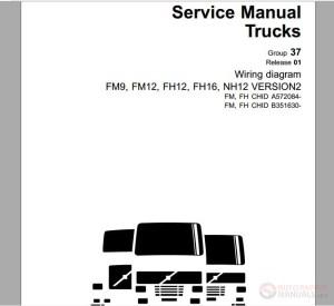 Volvo Truck FM;FH VERS2 A572084–591627, B351630–381168 Service Manual | Auto Repair Manual Forum