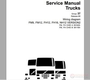 Volvo Truck FM;FH VERS2 A591628–, B381169–, Service Manual