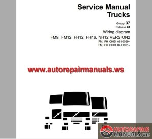 Volvo Trucks FM9,12,FH12,16,NH12 Wiring Diagram | Auto